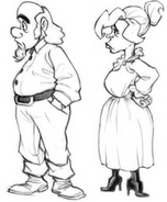 Guybrush's Parents