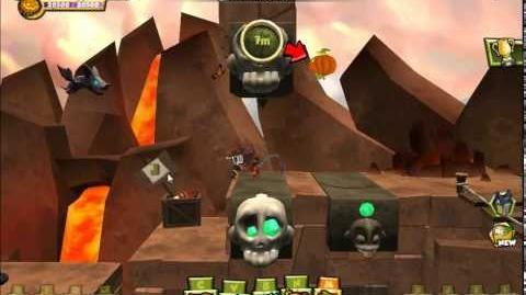 Monkey Quest Crossroads- Volcano Lair Walkthrough