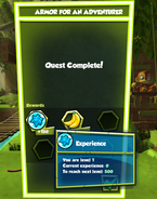 Completed Quest