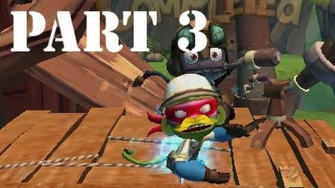 Let's Play Monkey Quest Part 3 - We got a stache!