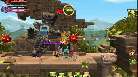 Monkey Quest Crossroads- Crumbling Gates Walkthrough