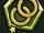 Fancy Gold Double Hoop