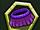 Purple Hula Skirt
