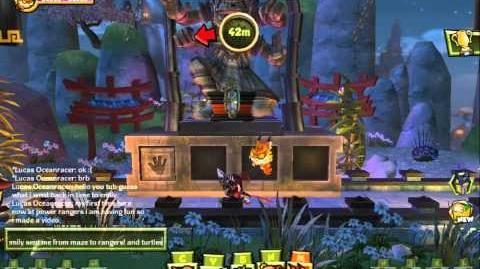 Monkey Quest 2013 Power Rangers MegaForece Arena