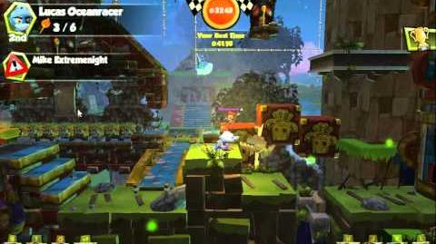 Monkey Quest Epic Torch Frenzy Race!