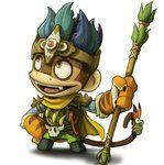 Monkey quest monkey king by sporehero-d3gaaem