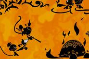 Fighting Ka the Shadow Monster