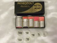 Monopoly 1936-1938 Coin Box CS4