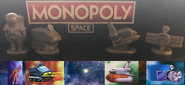 Monopoly Space tokens