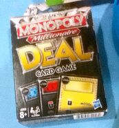 Monopoly Millonaire Deal Card Game