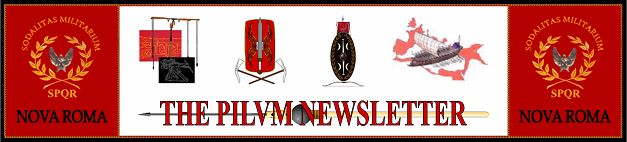 Pilum Newsletter of Sodalitas Militarium