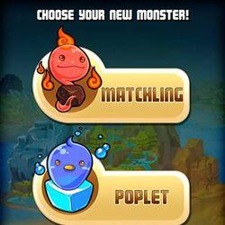 Starter Monsters