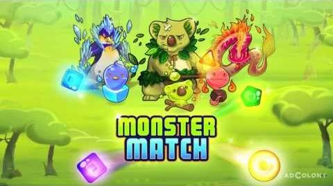 Monster Match Free puzzle game for Android, iPhone & iPad