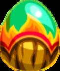 Burnbark Lizard Egg