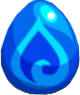 Blue Blob Egg