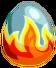 Magmadillo Egg