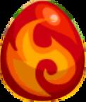 Fire Fox Egg