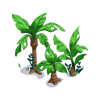 Palmweed thicket