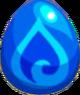 Monster s blueblob egg