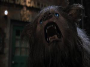 Female Werewolf Howling