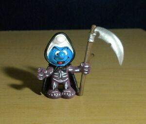 Grim Reaper Smurf Schleich figure