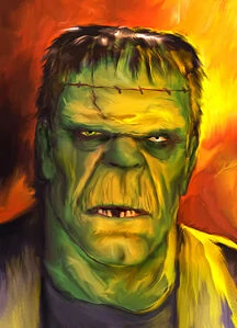 Frankenstein's Monster with color
