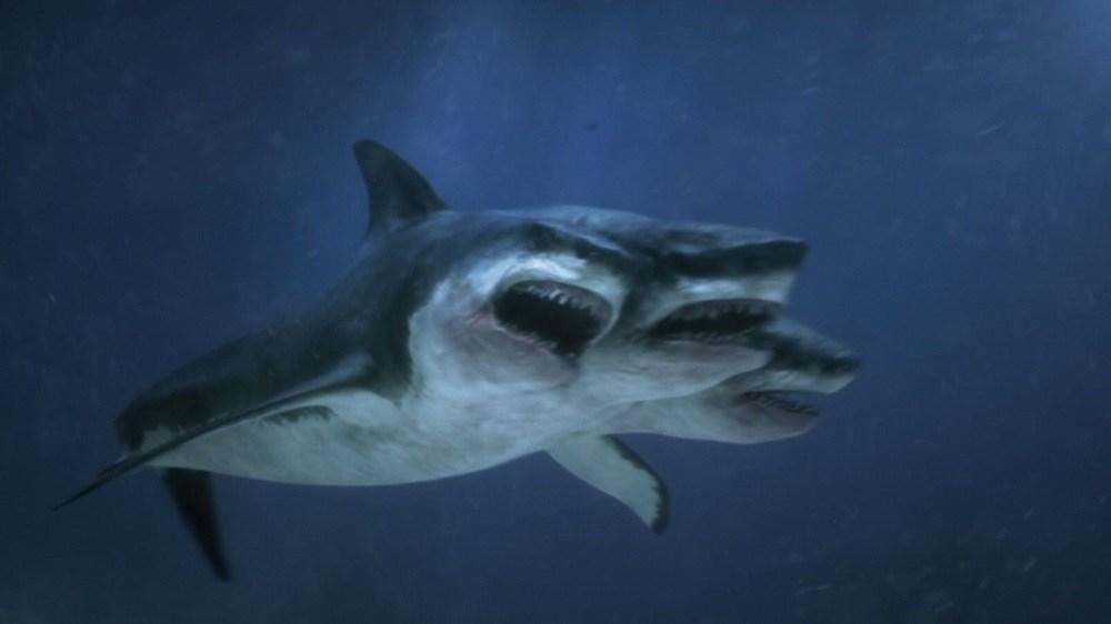 Three-Headed Shark