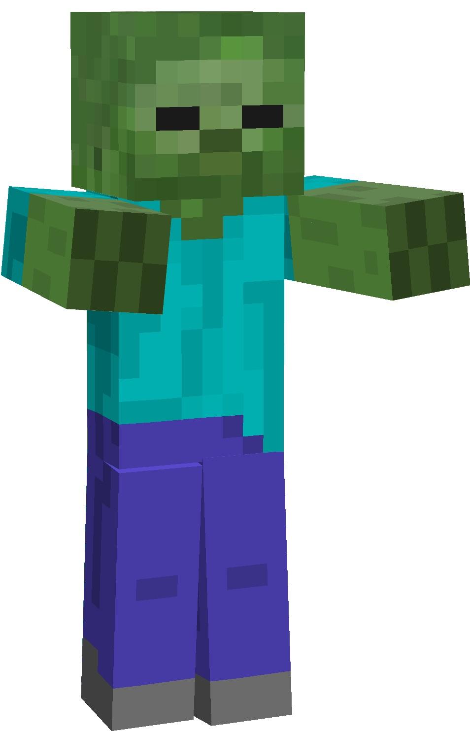 Zombie (Minecraft)  Monster Wiki  Fandom