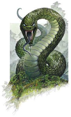 Giant Snake (Kong: Skull Island)