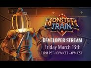 Monster Train Developer Livestream - Mark shows off the logbook and has a phenomenal run.
