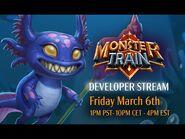 Monster Train Developer Stream- NEW CLAN! Monster Train Beta Livestream