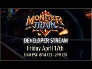 Monster Train Developer Stream - Strategy -Q&A