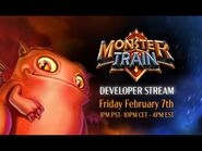First Look- Monster Train Developer Stream