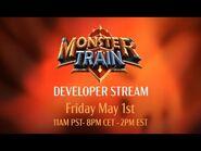 Monster Train - Developer Stream- Melting Remnant Clan