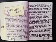 The Place I Once Knew journal entry