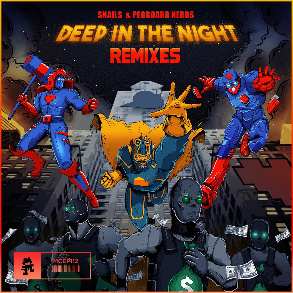 Deep In The Night (The Remixes)