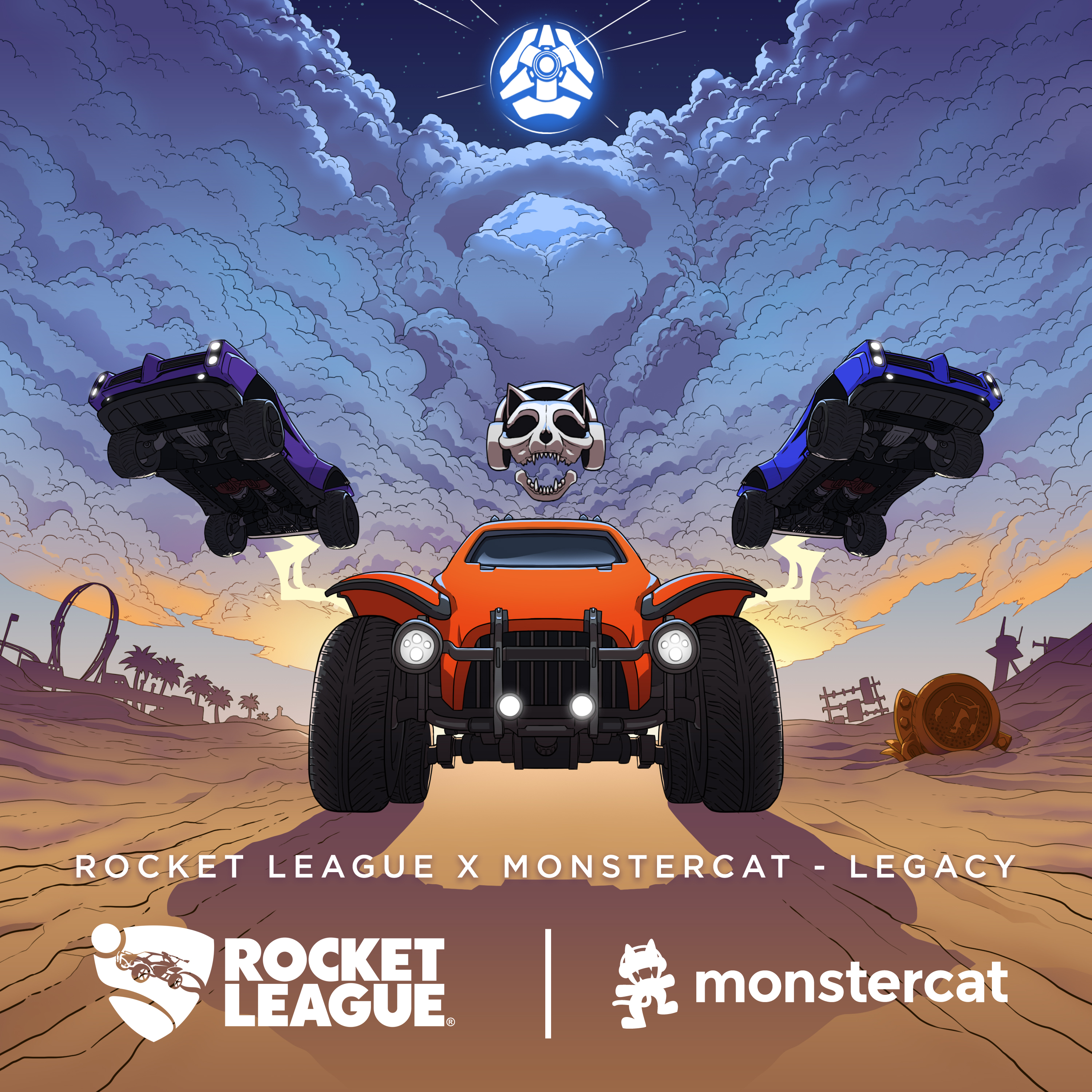 Rocket League x Monstercat - Legacy