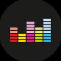 Deezer (Black) Logo Circle.png