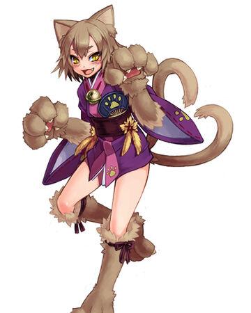 Cat Monster Girl