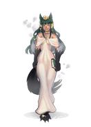Anubis in Gown