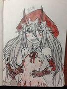 Redcap monster girl by delsin o m g rowe-daopbvl
