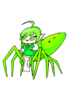 Magnolia Green Jumper Arachne