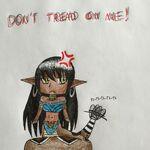 Don't Tread On Me (chibi rattlesnake lamia).jpeg