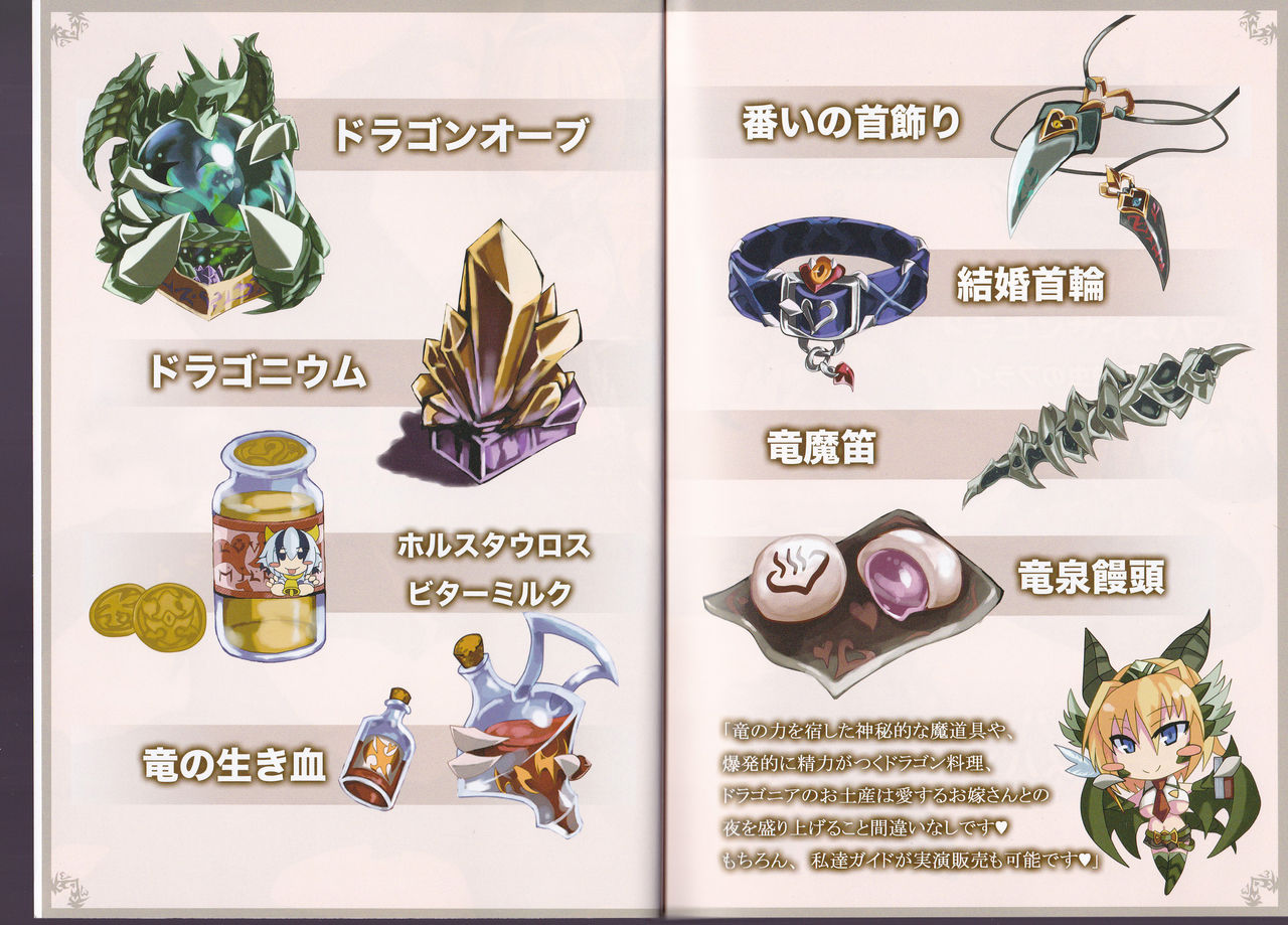 Monster Girl Encyclopedia World Guide - Side I: Dragonia