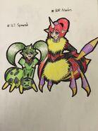 Spinarak and Ariados Arachnes revised