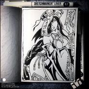 Sketchbook jiangshi by candra de947rt