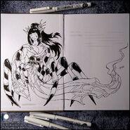 Sketchbook jorou gumo by candra de8u13i
