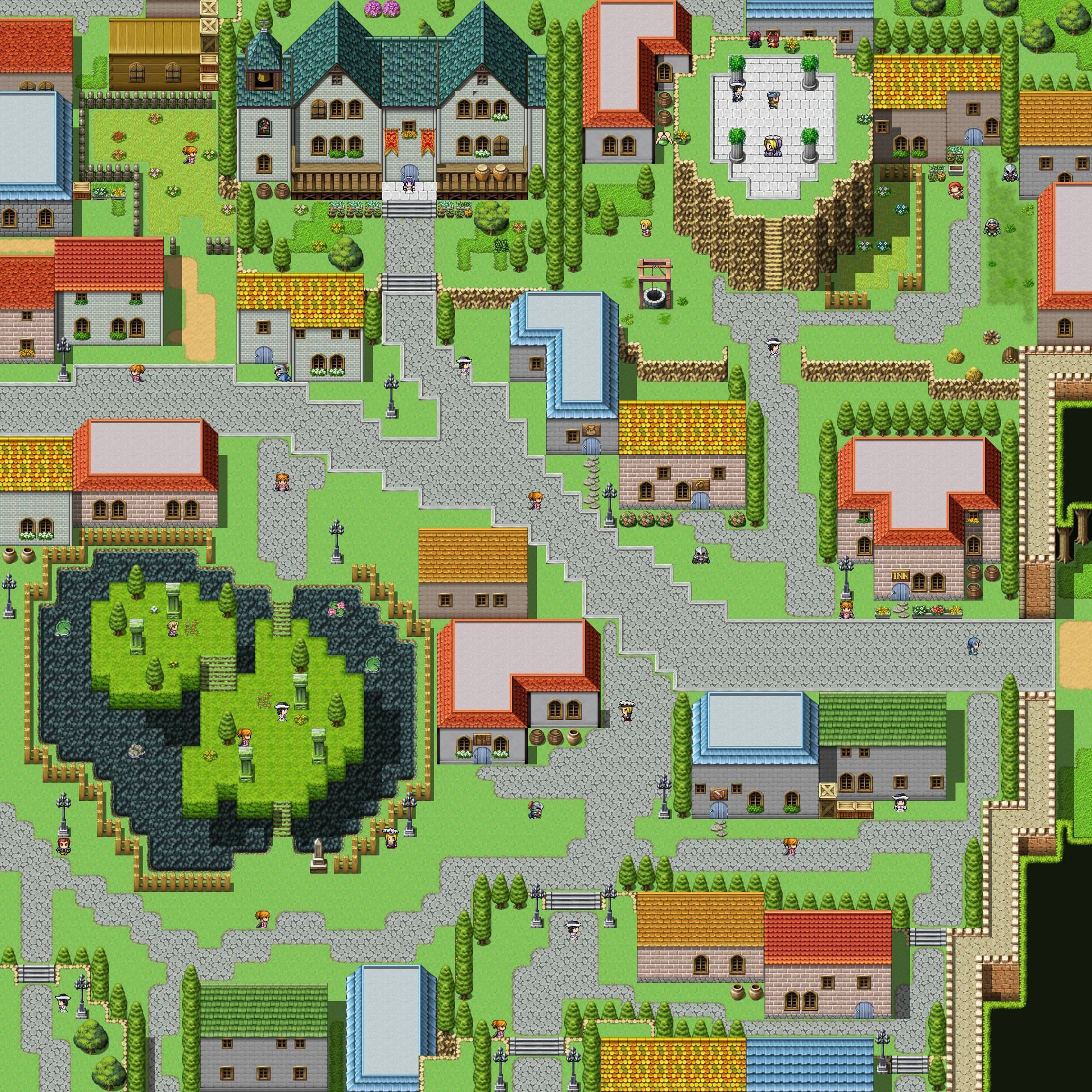 Lady's Village/Paradox