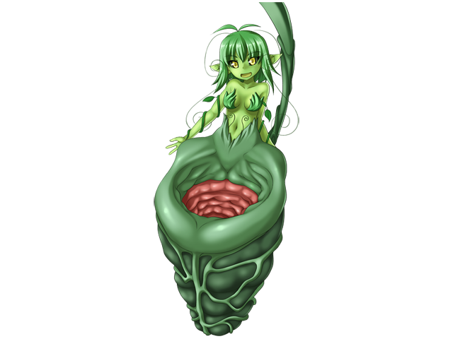 Pitcher Plant Girl
