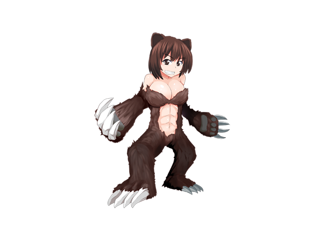 Grizzly Bear Girl